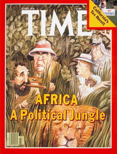 TIME Magazine Cover: Politics of Africa -- June 5, 1978