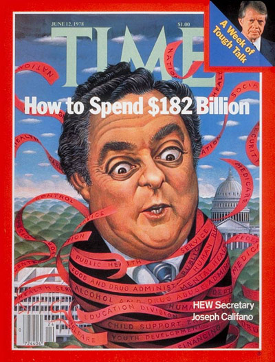 TIME Magazine Cover: Joseph Califano -- June 12, 1978