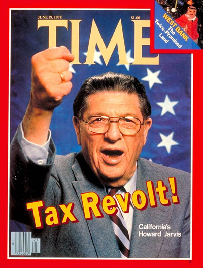 TIME Magazine Cover: Howard Jarvis -- June 19, 1978