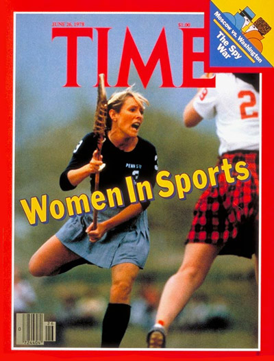 TIME Magazine Cover: Women in Sports -- June 26, 1978
