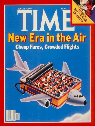 TIME Magazine Cover: Cheap Air Fares -- Aug. 14, 1978