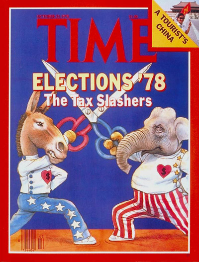 TIME Magazine Cover: Tax Slashers -- Oct. 23, 1978