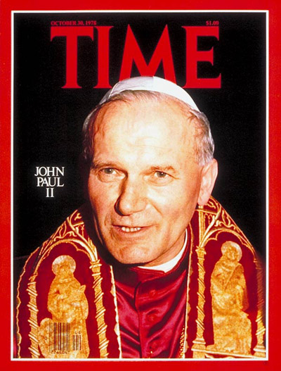 Pope John Paul II, from Osservatore Romano.
