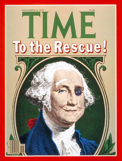 TIME Magazine Cover: Battered Dollar -- Nov. 13, 1978