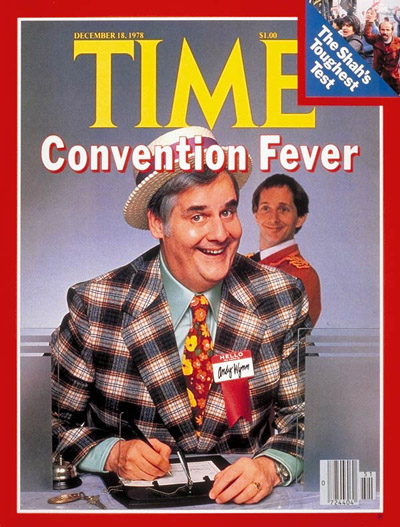 TIME Magazine Cover: Convention Fever -- Dec. 18, 1978