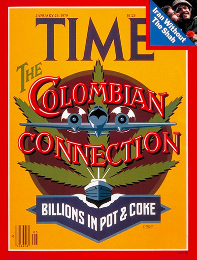 TIME Magazine Cover: Drug Smuggling -- Jan. 29, 1979