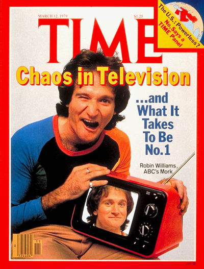 TIME Magazine Cover: Robin Williams -- Mar. 12, 1979
