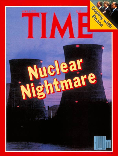 TIME Magazine Cover: Three Mile Island -- Apr. 9, 1979