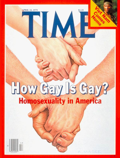 TIME Magazine Cover: Homosexuality -- Apr. 23, 1979