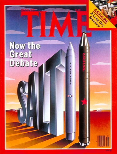TIME Magazine Cover: Salt II Debate -- May 21, 1979
