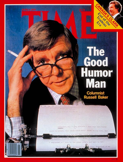 TIME Magazine Cover: Russell Baker -- June 4, 1979