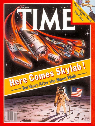 TIME Magazine Cover: Skylab -- July 16, 1979