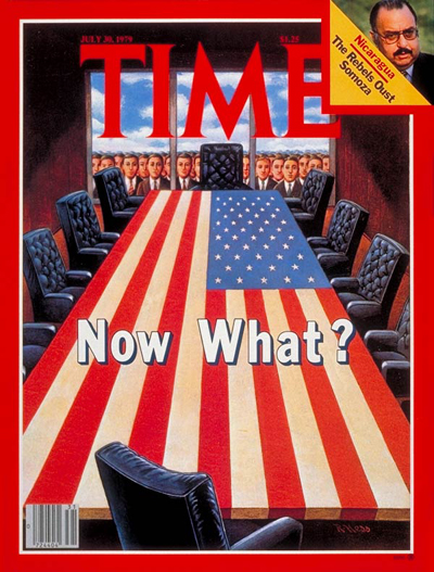 TIME Magazine Cover: Carter's Cabinet Purge -- July 30, 1979