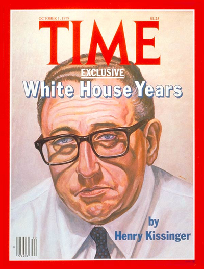 TIME Magazine Cover: Henry Kissinger -- Oct. 1, 1979