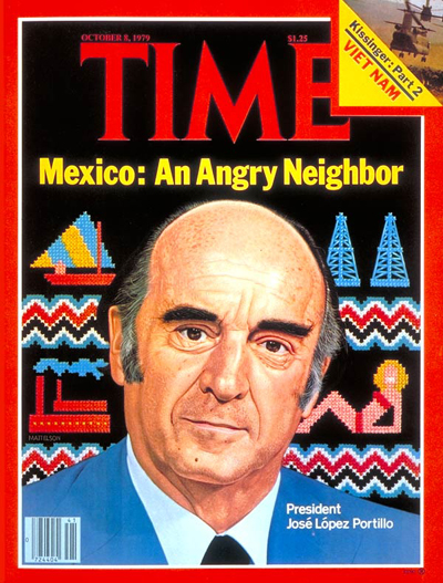 TIME Magazine Cover: Mexico's Lopez Portill -- Oct. 8, 1979