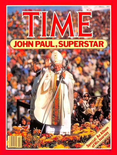 TIME Magazine Cover: Pope John Paul II -- Oct. 15, 1979