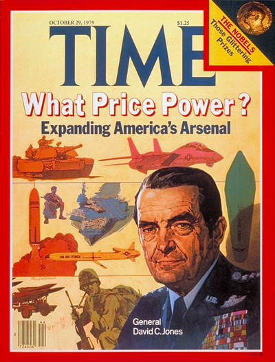 TIME Magazine Cover: David C. Jones -- Oct. 29, 1979