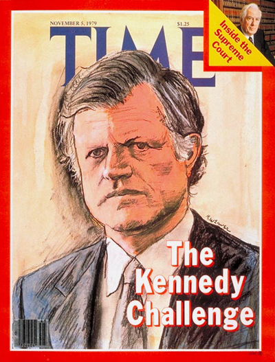 TIME Magazine Cover: Edward Kennedy -- Nov. 5, 1979