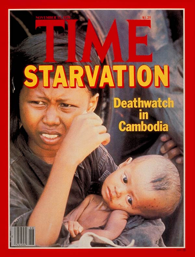 TIME Magazine Cover: Starvation in Cambodia -- Nov. 12, 1979
