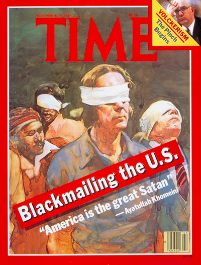 TIME Magazine Cover: Hostages in Iran -- Nov. 19, 1979