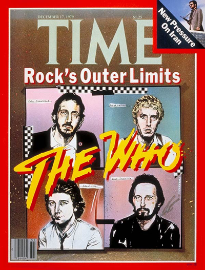 TIME Magazine Cover: The Who -- Dec. 17, 1979