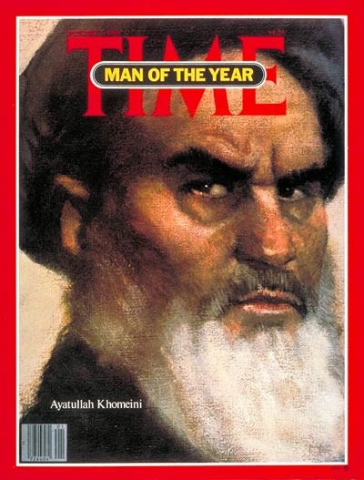 TIME Magazine Cover: Ayatullah Khomeini, Man of the Year -- Jan. 7, 1980