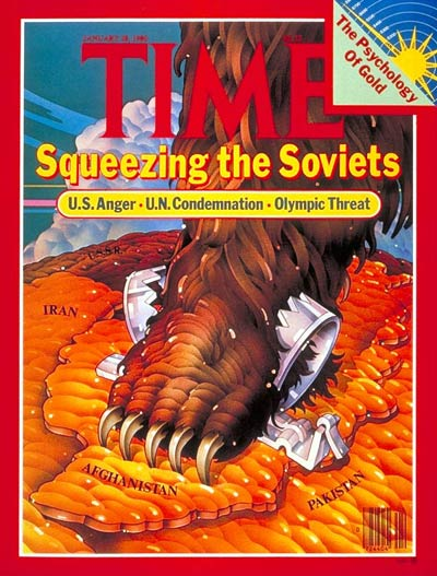 TIME Magazine Cover: Squeezing the Soviets -- Jan. 28, 1980