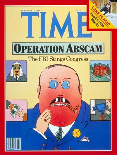 TIME Magazine Cover: Operation Abscam -- Feb. 18, 1980