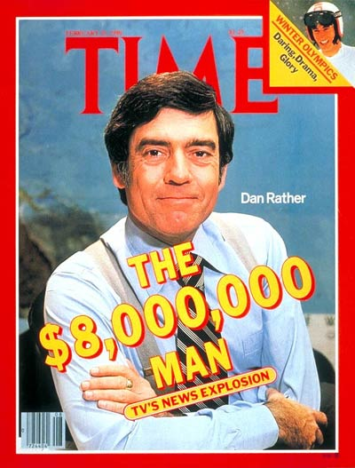 TIME Magazine Cover: Dan Rather -- Feb. 25, 1980