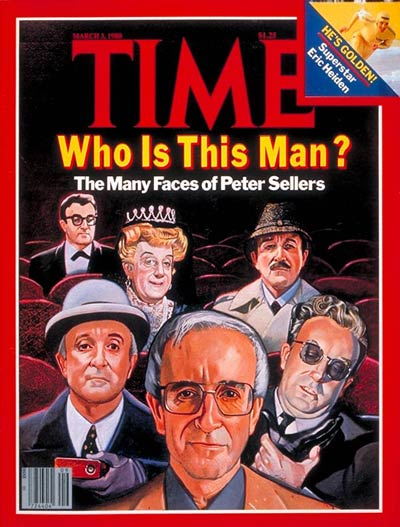TIME Magazine Cover: Peter Sellers -- Mar. 3, 1980