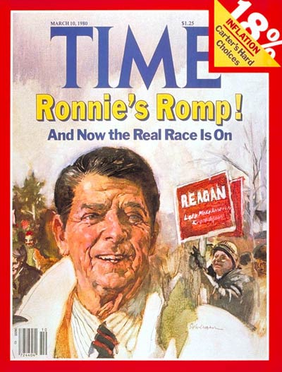 TIME Magazine Cover: Ronald Reagan -- Mar. 10, 1980