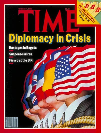 TIME Magazine Cover: U.S. Diplomacy -- Mar. 17, 1980