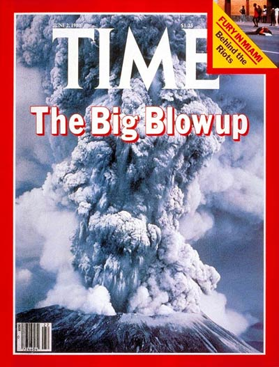 TIME Magazine Cover: Mount St. Helens -- June 2, 1980