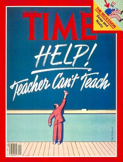 TIME Magazine Cover: Teachers -- June 16, 1980