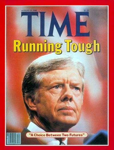 TIME Magazine Cover: Nominee Carter -- Aug. 25, 1980