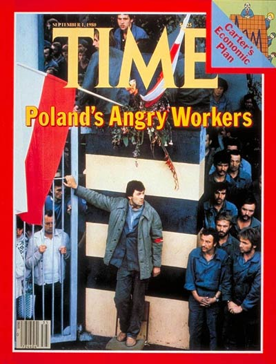 TIME Magazine Cover: Poland's Workers -- Sep. 1, 1980