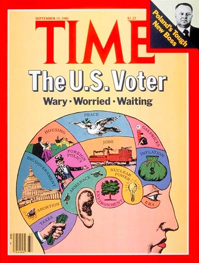TIME Magazine Cover: The U.S. Voter -- Sep. 15, 1980