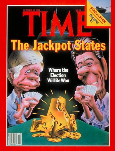 TIME Magazine Cover: Jackpot States -- Oct. 13, 1980