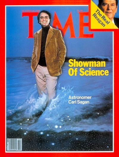 TIME Magazine Cover: Carl Sagan -- Oct. 20, 1980
