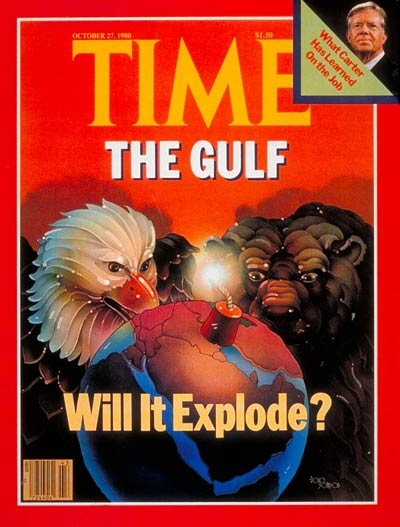 TIME Magazine Cover: Crisis in the Gulf -- Oct. 27, 1980