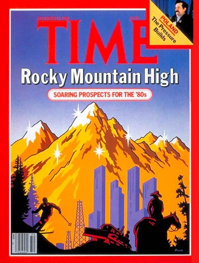 TIME Magazine Cover: Rocky Mountain High -- Dec. 15, 1980