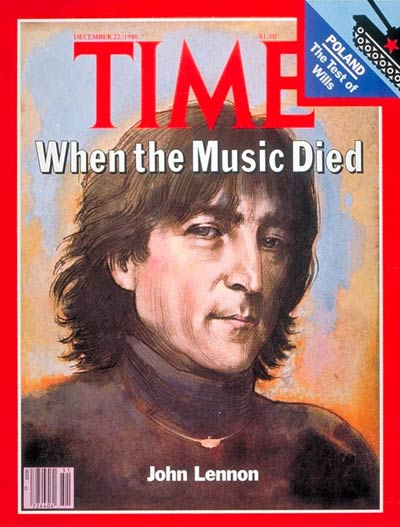 TIME Magazine Cover: John Lennon -- Dec. 22, 1980