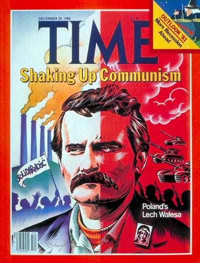 TIME Magazine Cover: Lech Walesa -- Dec. 29, 1980