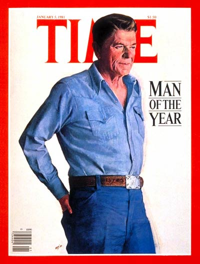 TIME Magazine Cover: Ronald Reagan, Man of the Year -- Jan. 5, 1981