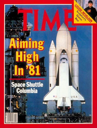 TIME Magazine Cover: Space Shuttle Columbia -- Jan. 12, 1981