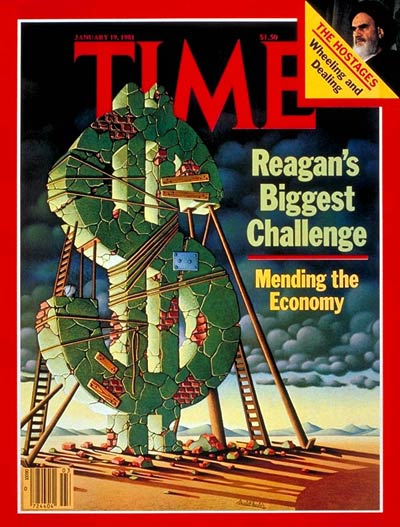 TIME Magazine Cover: The Economy -- Jan. 19, 1981
