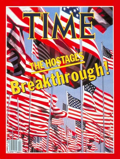 TIME Magazine Cover: Hostage Breakthrough -- Jan. 26, 1981