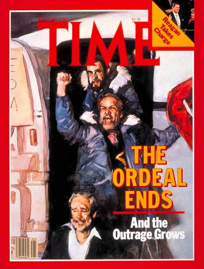 TIME Magazine Cover: Hostages Return -- Feb. 2, 1981