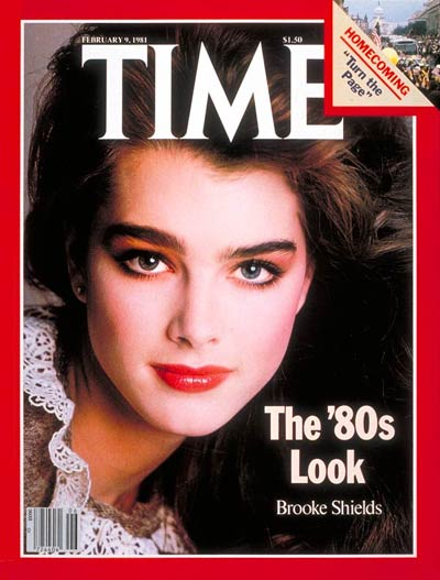 TIME Magazine Cover: Brooke Shields -- Feb. 9, 1981
