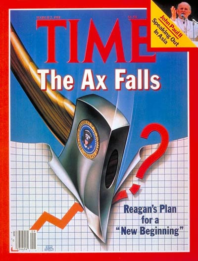 TIME Magazine Cover: Reagan's New Beginning -- Mar. 2, 1981